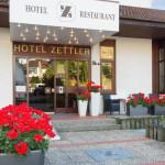 Eingang Hotel Zettler