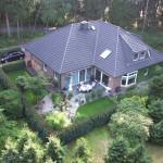 Haus Waldblick vom Garten
