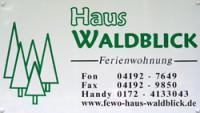 """Ferienwohnung """"Haus Waldblick"""""""